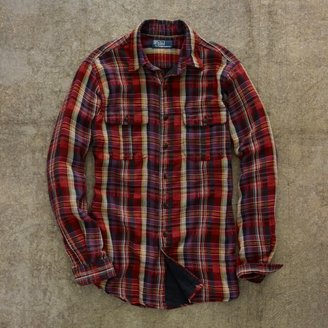 Polo Ralph Lauren Custom Double-Faced Workshirt