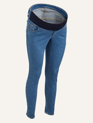 Old Navy Maternity Front Low Panel Rockstar Super Skinny Jeans