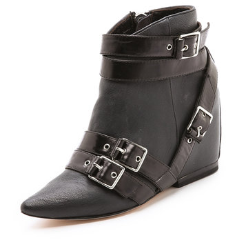 Josie Isa Tapia Buckle Booties