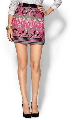 Milly Couture Tweed Mini Skirt