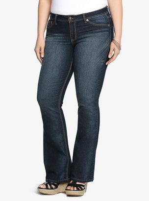 Torrid Slim Boot Jean - Medium Wash (Extra Short)