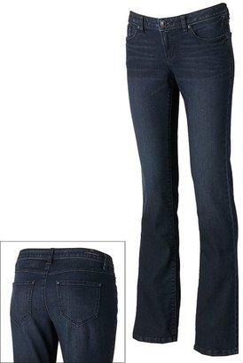 Lauren Conrad slim bootcut jeans - women's