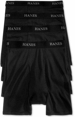 Hanes Platinum Men Underwear, Boxer Brief 4 Pack