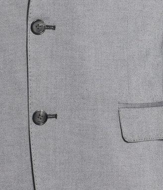 H&M Melange Blazer - Black melange - Men