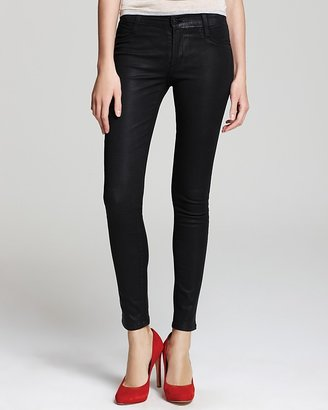 James Jeans Quotation Twiggy in Coated Black