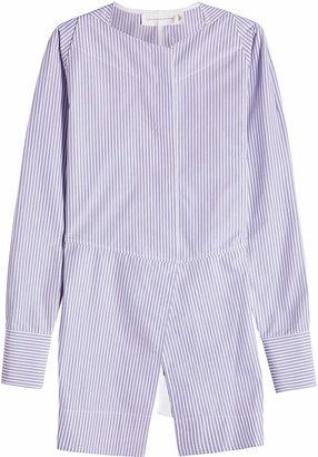 Victoria Beckham Open Back Cotton Shirt
