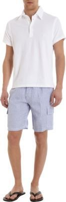 Vilebrequin Striped Linen Shorts