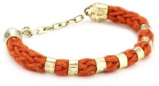 Citrine by the Stones Small Hemp Orange Bracelet