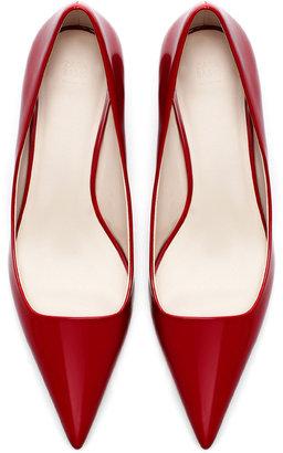 Zara Pointed Mid Heel Court Shoe