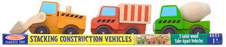 Melissa & Doug Kids Toy, Stacking Construction Vehicles