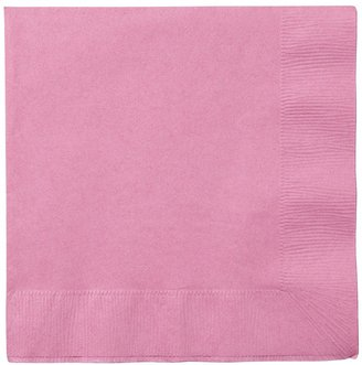 Creative Converting Candy Pink Lunch Napkins - 20 ct
