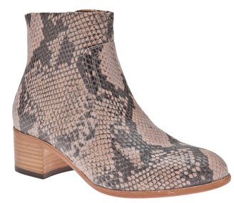 Hudson H By Snake ankle boot