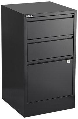 Bisley 3-Drawer File Cabinet Black