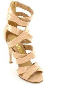 L.A.M.B. Multi Strap Heel