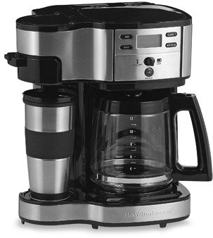 Hamilton Beach The Scoop™ Two-Way Brewer