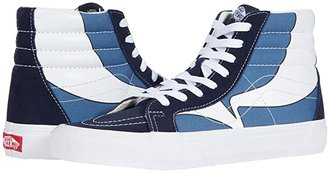 Vans SK8-Hi Reissue ((Classic Tumble) True White) Skate Shoes