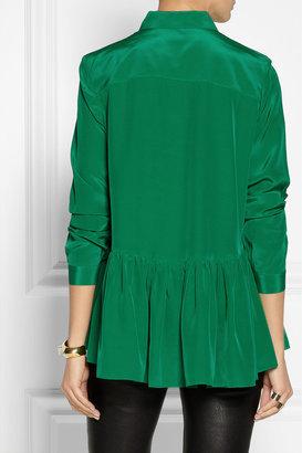 Tibi Silk crepe de chine blouse