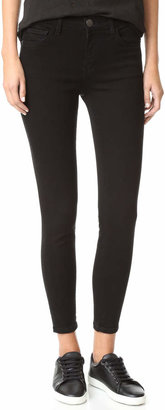 Current/Elliott The High Waist Stiletto Jeans $184 thestylecure.com