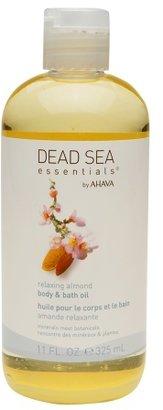 Ahava Dead Sea Essentials by Body & Bath Oil Relaxing Almond