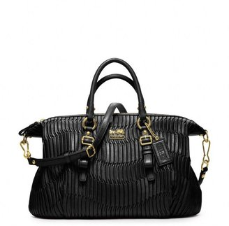 Coach Madison Gathered Leather Juliette