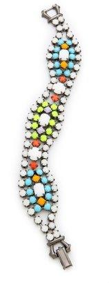 Tom Binns Shadow Play Neon Crystal Bracelet