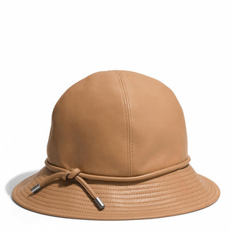 Coach 4 Gore Leather Hat