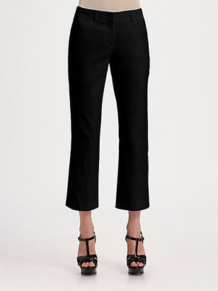 Theory Stretch Knit Ankle Pants