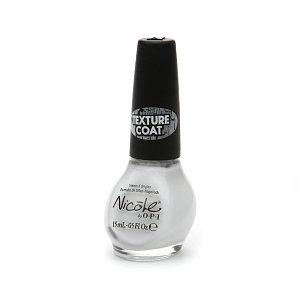 OPI Texture Coat Nail Lacquer, Silver