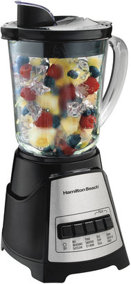 Hamilton Beach Wave Crusher Glass Jar Blender - Black