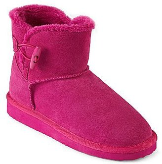 Arizona Crescent Suede Cold-Weather Booties