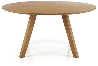"""Crate & Barrel Cayman 60"""" Round Dining Table"""