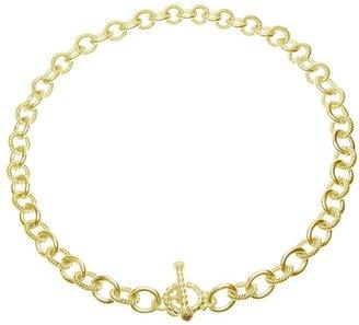 "Judith Ripka Astor 20"" Chain Necklace, Sterling14K Clad"