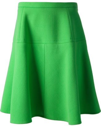 Carven panelled skirt