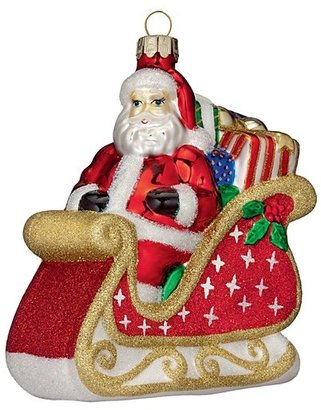 Waterford Holiday Heirlooms Santa Coming To Town Ornament