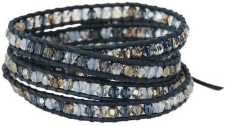 Chan Luu 32 Denim Blue Mix Bracelet (Denim Blue Mix) - Jewelry