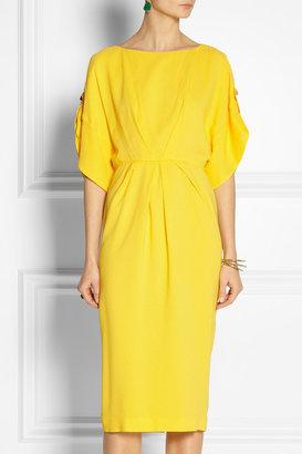Vionnet Stretch-crepe dress