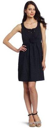 Calvin Klein Jeans Women's Petite Denim Dress