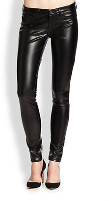 AG Adriano Goldschmied The Legging Faux Leather Jeans