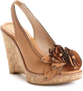 Frye Women's Shoes, Pepper Leaf Slingback Wedge Sandals