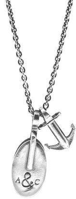 ANCHOR & CREW London Pulley Silver Necklace Pendant