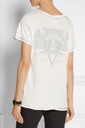 Current/Elliott The Crew Neck printed cotton-jersey T-shirt