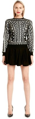 Torn By Ronny Kobo Shauna Sweater Ceremonial Jacquard