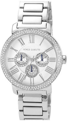 Vince Camuto Crystal Accent Multifunction Watch, 41mm