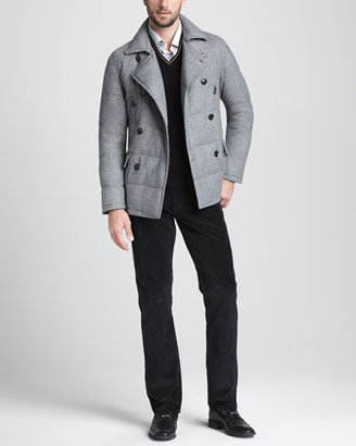 Ermenegildo Zegna Five-Pocket Corduroy Pants