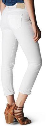 True Religion Victoria Moto Mid Rise Skinny Womens Jean