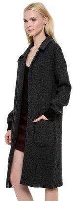 Alexander Wang Double Knit Button Coat