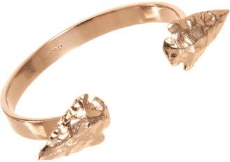 Pamela Love Rose Gold Double Mini Arrowhead Cuff
