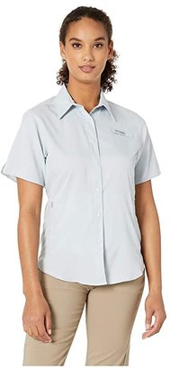 Columbia Tamiamitm II S/S (Cirrus Grey) Women's Short Sleeve Button Up