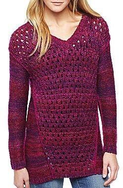 Nicole Miller nicole by Open-Stitch Sweater