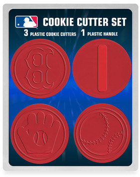 Bed Bath & Beyond MLB Cookie Cutter Set - Boston Red Sox